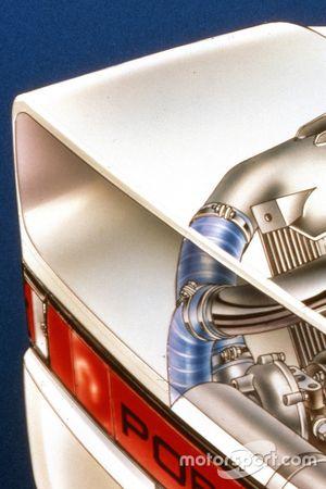 Porsche 959 kesit