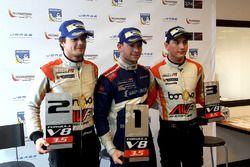 Tom Dillmann, AVF, Matthieu Vaxiviere, SMP Racing en Alfonso Celis Jr, AVF