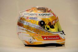 Casco de Fernando Alonso, Scuderia Ferrari