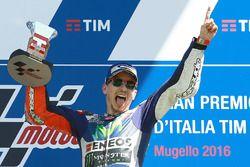 Il vincitore, Jorge Lorenzo, Yamaha Factory Racing