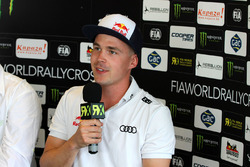 Toomas Heikkinen, EKS RX in the press conference