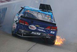 Crash de Reed Sorenson, Chevrolet