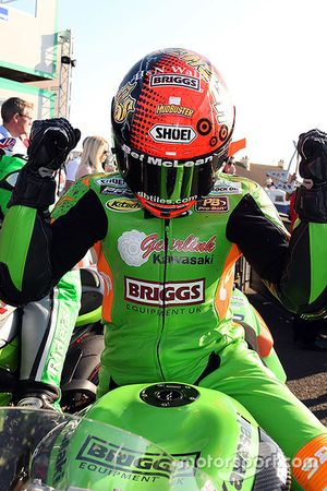Supersport race winner Alastair Seeley