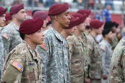 Military pre-race activities