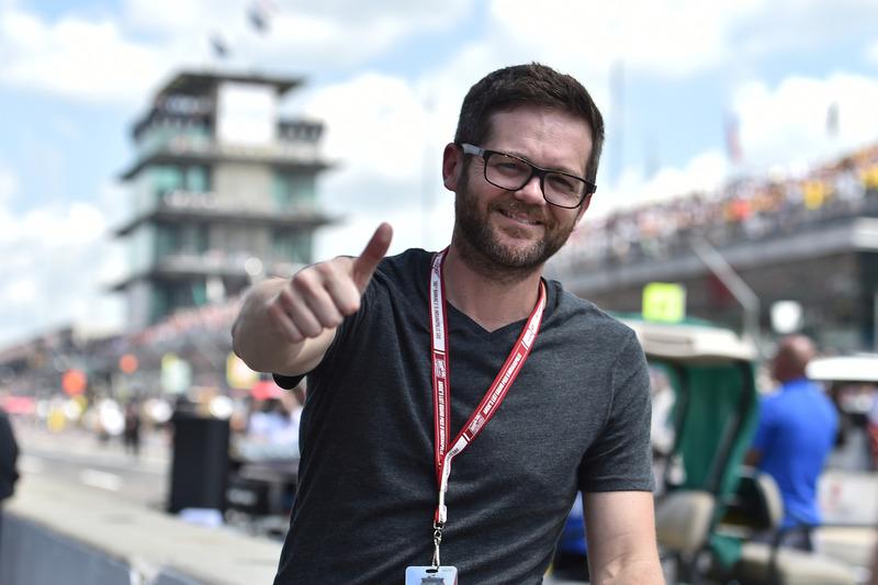 Josh Kaufman at Indy 500