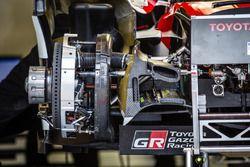 #6 Toyota Racing Toyota TS050 Hybrid brake detail