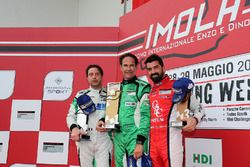 Podio Michelin Cup Gara 2