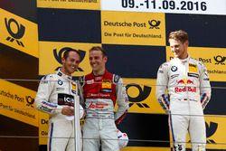 Podium: Race winner Marco Wittmann, BMW Team RMG, BMW M4 DTM; second place Tom Blomqvist, BMW Team R