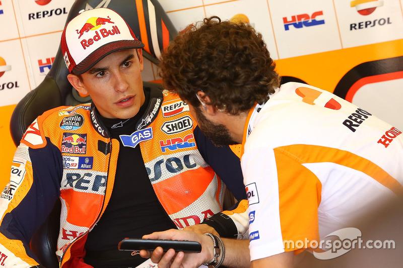Marc Marquez tentou buscar explicações para a quarta colocação no grid.