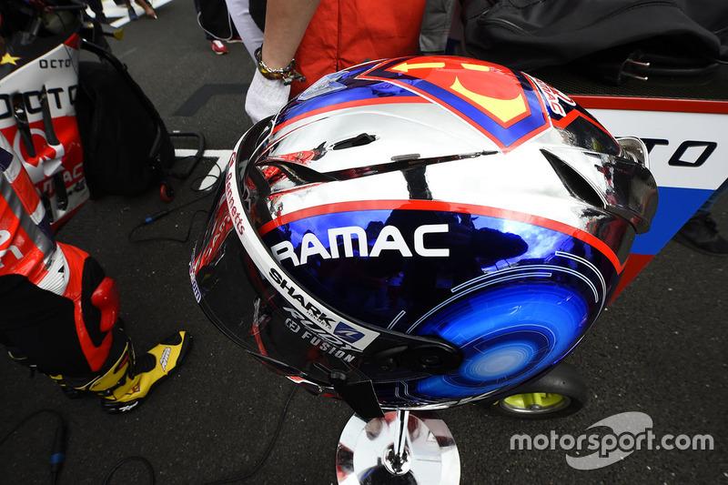 Helmet of Scott Redding, Pramac Racing