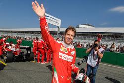 Sebastian Vettel, Scuderia Ferrari demonstración
