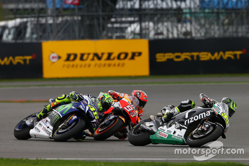 Cal Crutchlow, Team LCR Honda, Marc Marquez, Repsol Honda Team, Valentino Rossi, Yamaha Factory Racing