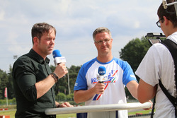 Rene Köhler mit Ralf Schumacher
