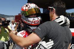 Alberto Viberti, Seat Leon Racer S.G.-TCR festeggia la vittoria di Gara 2