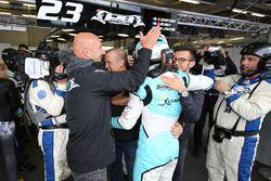 Pole position LMP2 para el #23 Panis Barthez Competition Ligier JS P2 Nissan: Fabien Barthez, Timoth