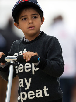 Felipinho Massa, le fils de Felipe Massa, Williams