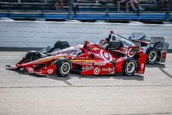 Scott Dixon, Chip Ganassi Racing Chevrolet, Will Power, Team Penske Chevrolet