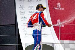 Podium: Sieger Antonio Fuoco, Trident; 2. Alex Palou, Campos Racing; 3. Charles Leclerc, ART Grand P