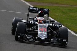 Stoffel Vandoorne, McLaren MP4-31 Piloto de pruebas y de reserva
