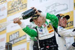 Podium: #50 YACO Racing, Audi R8 LMS: Rahel Frey