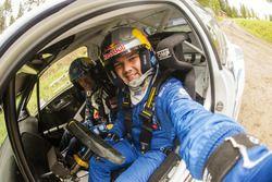 Ayrat Mardeev with Jari-Matti Latvala, Volkswagen Motorsport
