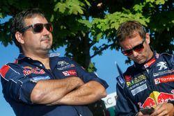 Sébastien Loeb, Team Peugeot Hansen and Daniel Elena