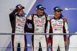 Terceros #6 Toyota Racing Toyota TS050 Hybrid: Stéphane Sarrazin, Mike Conway, Kamui Kobayashi