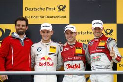 Podium: 1. Miguel Molina, Audi Sport Team Abt Sportsline, Audi RS 5 DTM; 2. Marco Wittmann, BMW Team