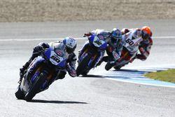 Sylvain Guintoli, Pata Yamaha, Alex Lowes, Pata Yamaha, Michael van der Mark, Honda World Superbike Team
