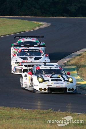 #911 Porsche Team North America Porsche 911 RSR: Nick Tandy, Patrick Pilet, #25 BMW Team RLL BMW M6