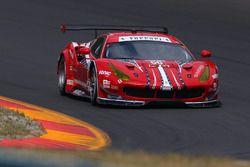 #68 Scuderia Corsa Ferrari 488 GTE: Alessandro Pier Guidi, Daniel Serra