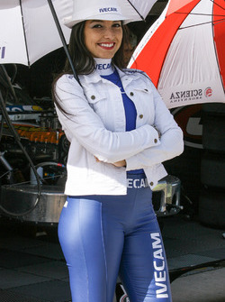 Chicas del Paddock Girls Argentina Ivecam