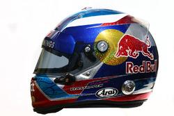 Le casque de Max Verstappen, Scuderia Toro Rosso