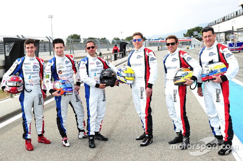 #9 Graff Racing Ligier JS P3 - Nissan: Eric Trouillet, Paul Petit, Enzo Guibbert; #10 Graff Racing Ligier JS P3 - Nissan: John Falb, Sean Rayhall, Enzo Potolicchio