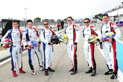 #9 Graff Racing Ligier JS P3 - Nissan: Eric Trouillet, Paul Petit, Enzo Guibbert; #10 Graff Racing L