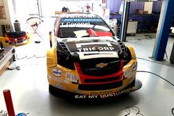 Das WTCC-Auto von Tom Coronel, ROAL Motorsport, erhält sein Farbdesign