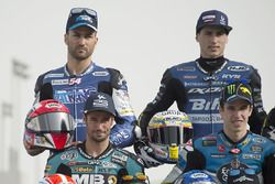 Mattia Pasini, Italtrans Racing Team, Kalex; Xavi Vierge, Tech 3 Racing, Tech 3; Simone Corsi, Speed