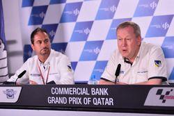 Piero Taramasso, Michelin Motorsport iki tekerlek başkanı ve Pascal Couasnon, Michelin Motorsport Di