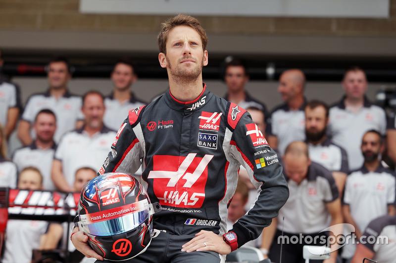 États-Unis 2016 - Romain Grosjean, Haas