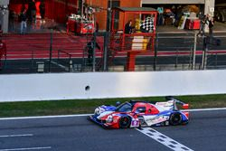 Checkered flag for #9 Graff Racing Ligier JS P3 - Nissan: Eric Trouillet, Paul Petit, Enzo Guibbert