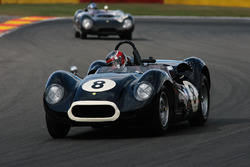 #8 Lister-Jaguar 'Knobbly' (1959): Tony Wood, Will Nuthall