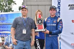 Segundo lugar Dean Stoneman, Andretti Autosport