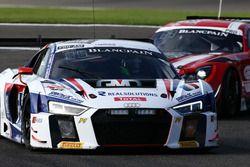 #25 Sainteloc Racing, Audi R8 LMS: Marco Bonanomi, Fred Bouvy, Christian Kelders, Marc Rostan