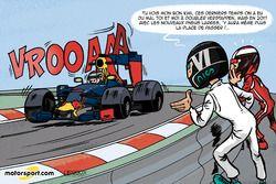 L'humeur de Cirebox - Des pneus plus larges pour Verstappen