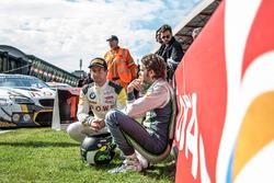#99 Rowe Racing, BMW M6 GT3: Alexander Sims; Bentley Team M-Sport; #8 Bentley Continental GT3: Andy