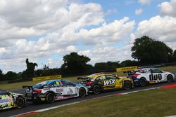 Tom Ingram, Speedworks Motorsport; Adam Morgan, WIX Racing; Mat Jackson, Motorbase Performance