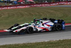 R.C. Enerson, Dale Coyne Racing, Honda; Conor Daly, Dale Coyne Racing, Honda