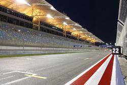 vista de las gradas en el Bahrain International Circuit