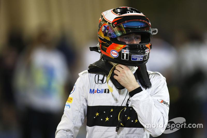 2016 год. Стоффель Вандорн, 1 гонка в McLaren