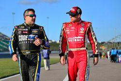 Tony Stewart, Stewart-Haas Racing, Chevrolet; Kevin Harvick, Stewart-Haas Racing, Chevrolet
